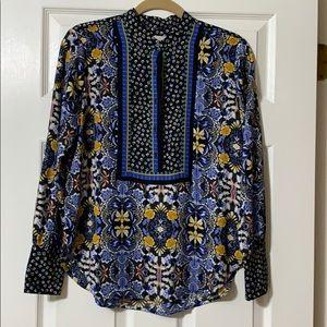 LOFT floral blouse. Size XS